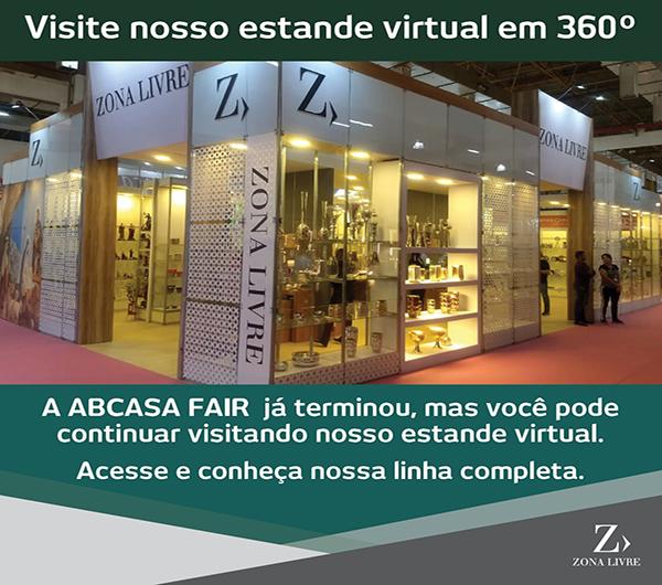 Estande Virtual 360 ° Zona Livre Brasil