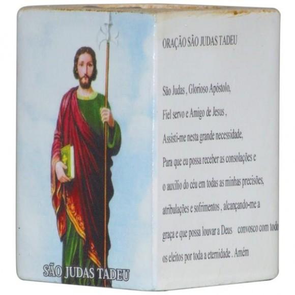 SAO JUDAS TADEU CANDELABRO 7,5CM