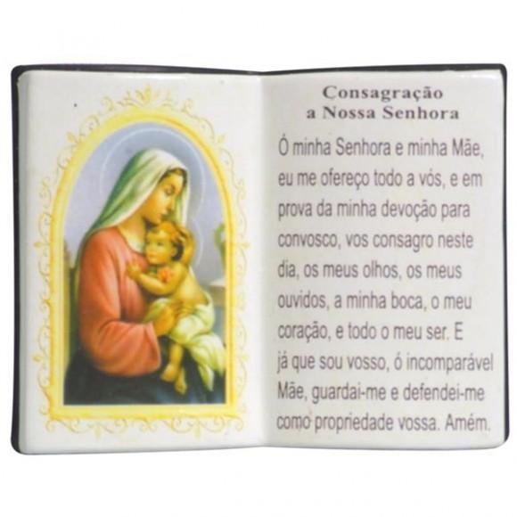 CONSAGRACAO A N.SENHORA LIVRO 10X08CM