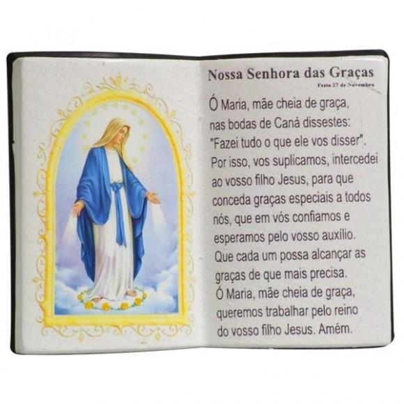 N.SRA DAS GRACAS LIVRO P/CANETA 14X11CM