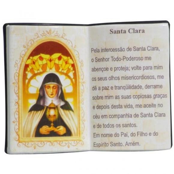 SANTA CLARA LIVRO 10X08CM