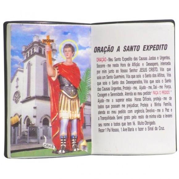 SANTO EXPEDITO LIVRO P/CANETA 14X11CM