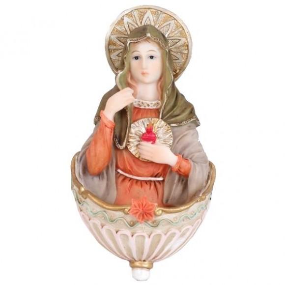 SAG.CORACAO MARIA AGUA BENTA 17CM