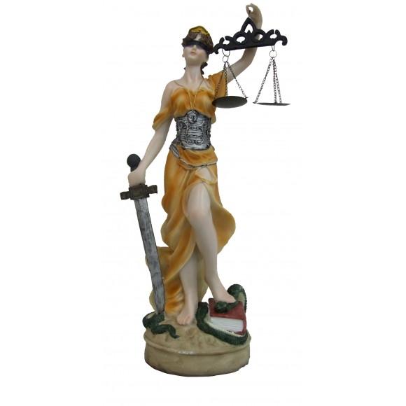 DAMA DA JUSTICA 11CM COLOR