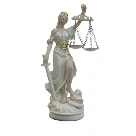 DAMA DA JUSTICA 11CM CREME