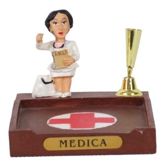 MEDICA P/PAPEL/CANETA 8 CM