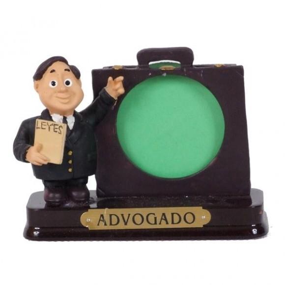ADVOGADO PORTA FOTO 8 CM