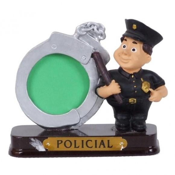 POLICIAL PORTA FOTO 8 CM