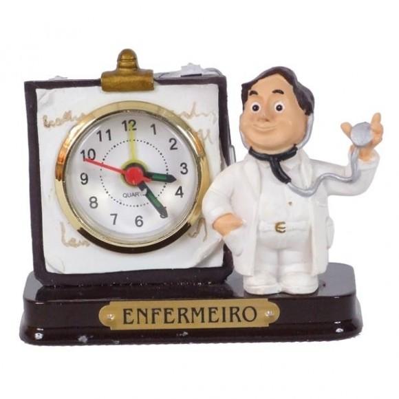 ENFERMEIRO RELOGIO 8 CM