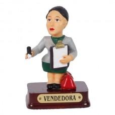 VENDEDORA  8 CM