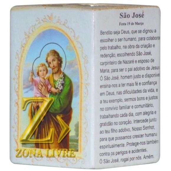 SAO JOSE P/VELA 7,5CM