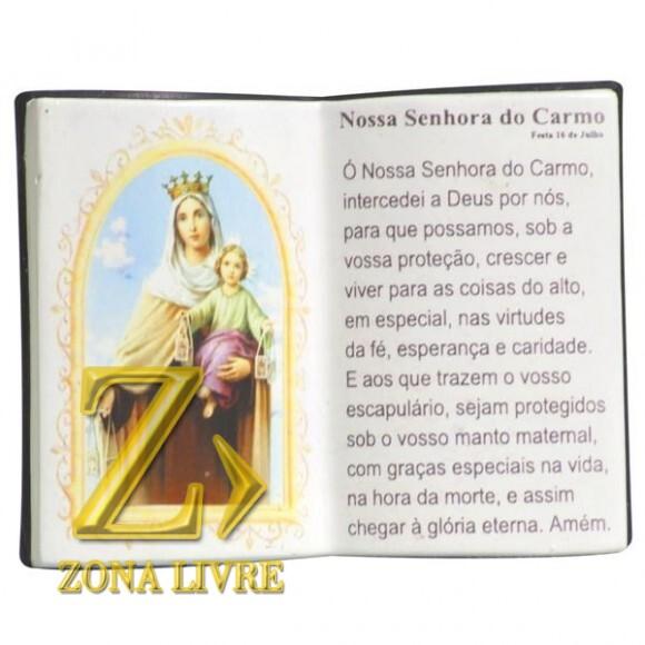 N.SRA DO CARMO LIVRO 10X08CM
