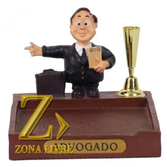 ADVOGADO P/PAPEL/CANETA 8 CM
