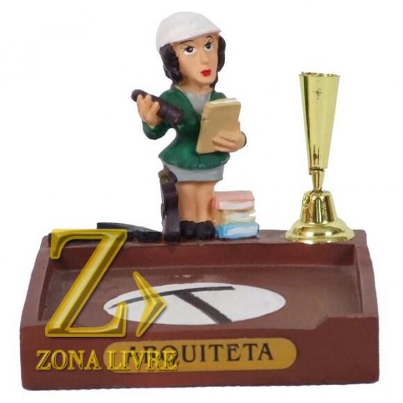 ARQUITETA P/PAPEL/CANETA 8 CM