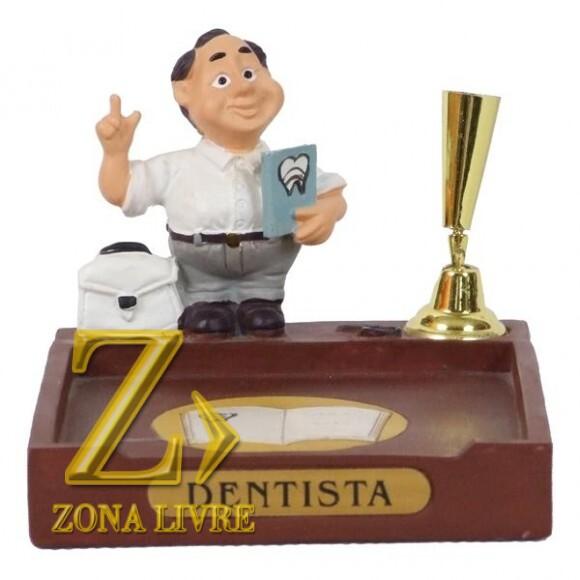 DENTISTA P/PAPEL/CANETA 8CM